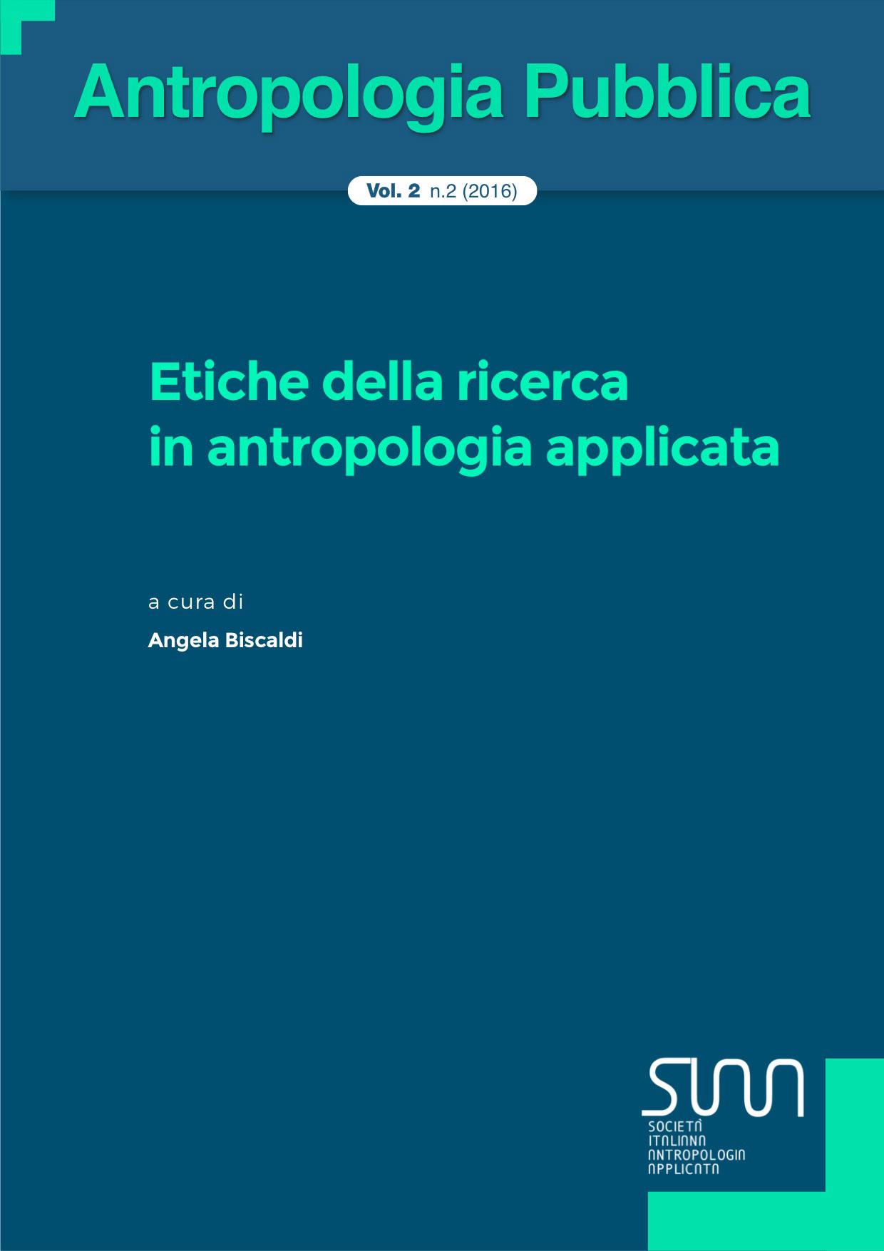 Copertina Antropologia pubblica