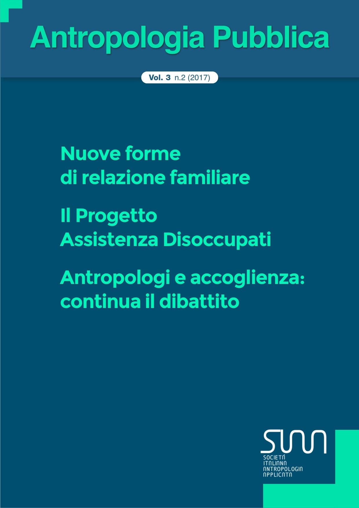 antropologia pubblica 3 (2) 2017 nuove forme di relazione familiare